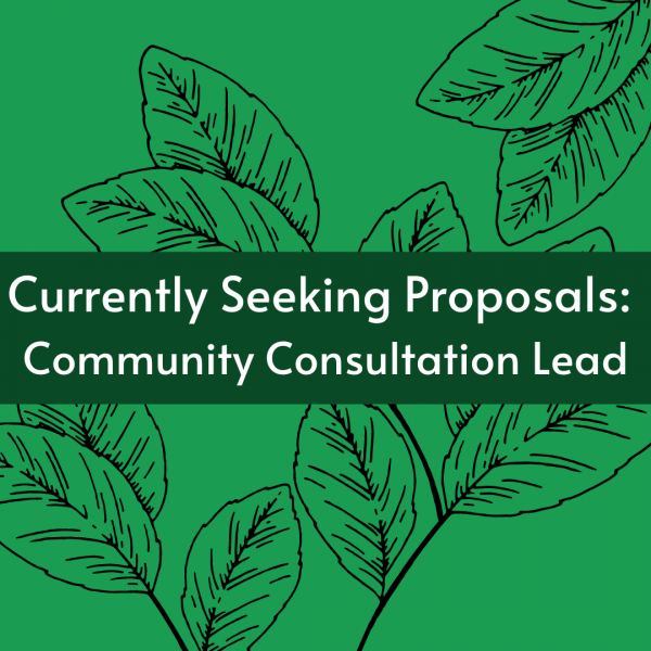 Currently Seeking Proposals